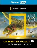 NATIONAL GEOGRAPHIC Les monstres volants 3D BLU RAY 3D + 2D NEUF SOUS BLISTER