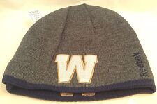 WINNIPEG BLUE BOMBERS CFL Team Logo Reebok REVERSIBLE Toque TUQUE  Winter Hat