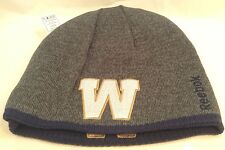 WINNIPEG BLUE BOMBERS CFL Team Logo Reebok REVERSIBLE Toque TUQUE  Winter Hat