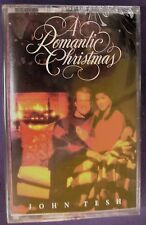 A Romantic Christmas by John Tesh (Cassette, Oct-1995, GTS Records) NEW