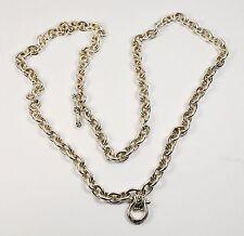 "$1,915 SCOTT KAY 166g 5.6oz 34"" Horseshoe Chain Links Necklace Men Women Lady A"
