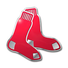 Boston Red Sox Die-Cut Metal Auto Emblem [NEW] MLB Car Decal Sticker CDG