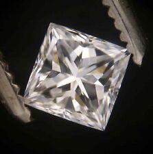GIA Cert 0.40ct PRINCESS cut Diamond  E SI-2