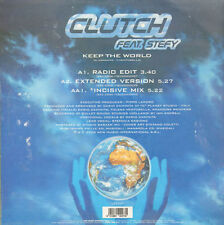 CLUTCH - Keep The World, Feat. Stefy - 2000 LUP 047 - Italy