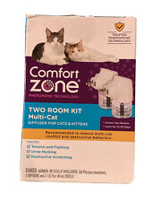 Comfort Zone 2 Room Kit Multi Cat - 2 Diffusers & 2 Refills NEW