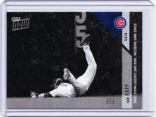Ian Happ Chicago Cubs Rookie 2018 Topps NOW Platinum Black & White 300BW 1/1 RC