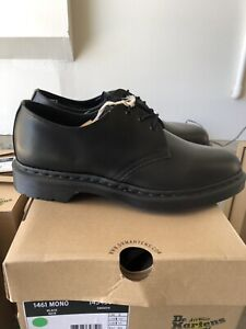 Dr Marten 1461 Mono Smooth Leather Oxford Shoes Size 11