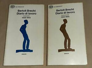 Diario di lavoro ( 2 volumi) di Bertolt Brecht -  G. Einaudi, 1976