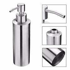 Stainless Metal Pump Soap Lotion Dispenser Bathing Liquid Bottle 1# 250ml