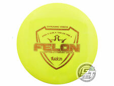 New Dynamic Discs Fuzion Felon 169g Yellow Gold Stamp Fairway Driver Golf Disc