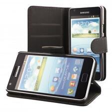 Samsung Galaxy S2 i9100 S2 Plus i9105 Schutz Hülle Schwarz + Panzerfolie Handy