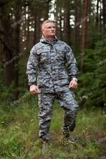 """Russian army scout """"RAZVEDCHIK"""" suit for special forces PIXEL grey"""