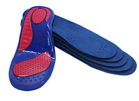 Women Shoe Insole Gel Massaging Insoles with Arch Support & Heel Cushion Ladies