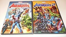 Ultimate Avengers: The Movie & Ultimate Avengers 2 (DVD 2-Discs) WS 1 & 2 Marvel