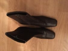 ladies brown Leather ankle boots George, size 7