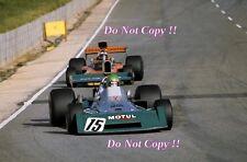 Henri pescarolo team motul brm P160E sud-africain grand prix 1974 photo