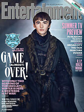 IL TRONO DI SPADE GAME OF THRONES ENTERTAINMENT WEEKLY COVER POSTER BRAN STARK