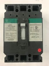 GE MOLDED CASE CIRCUIT BREAKER THED136050 3 POLE 50 AMP FREE SHIPPING!