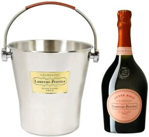 Laurent Perrier Rose Champagne with Laurent Perrier Ice Bucket NV 75 cl