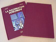 Tirage de Luxe Juillard Blake et Mortimer La Machination Voronov + ex-libris