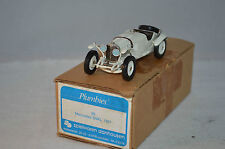 Western Models/Plumbies 28 Mercedes-Benz SSKL 1931 1:43 near mint in box