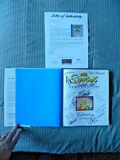The Simpsons Family History by Matt Groening Signed Stan Lee William Shatner