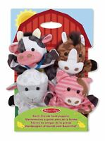Hand Puppets - Farm & Friends Toy Gift Set For Kids - by Melissa and Doug