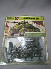 AH964 AIRFIX WWII WW2 ARMOURED CAR 234 01311-0 OO 1/76 HO 1/87 DIORAMA MAQUETTE
