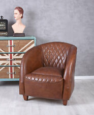 Leather Armchair Classics of 20er Years Club Chair Lounge Chair Vintage