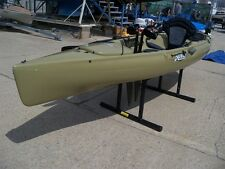 Used 2014 Hobie Mirage Pedal Kayak Revolution 11 Olive color