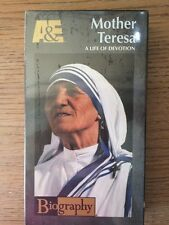 Biography - Mother Teresa: A Life of Devotion (VHS TAPE) A&E BRAND NEW SEALED