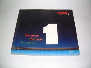 Märklin the new scale 1 - 1987/89 catalogue Marklin