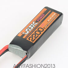 Discharger T-Plug 11.1V 2200mAh 25C 3S VOK Lipo Battery Universal For RC Drone