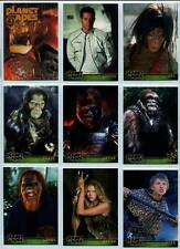 Planet Of The Apes Movie Topps Complete 90 Card Set Plus All 3 Wrappers 2001