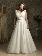 2020 luxury hot European and American style wedding dress custom Plus Size 6-28