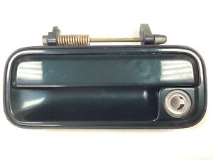 90-93 Accord 2/4Dr Left Front Door Exterior Outside Pull Handle Dk.Green OEM