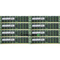 Samsung 256GB KIT 8X32GB PC3-12800R DDR3-1600Mhz 240Pin REG ECC RDIMM Memory