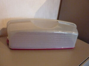 Tupperware Super Bäcker Doppelter Königskuchenbehälter NEU /& OVP