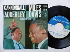 CANNONBALL ADDERLEY  MILES DAVIS Somethin else  BLUE NOTE 45 1738