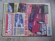 $$v Revue Echappement N°354 Seat Ibiza Cupra  Monte Carlo  Super VW Cup