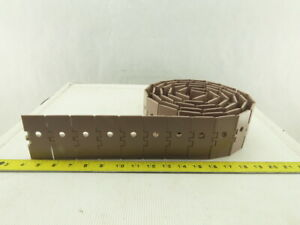 """Rexnord 820K325 Plastic Vacuum Table Top Conveyor Chain 8' Length 3-1/4"""" Wide"""