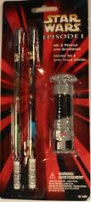 Star Wars Episode I - No. 2 Pencils With Sharpener - 1999 PenTech - Set #16202