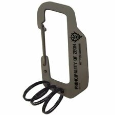 Charabiner Key Chain Ring Accessory Zeon Military Moblie Suits Gundam Japan.