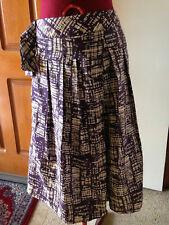 Ladies Veronika Maine linen and silk skirt