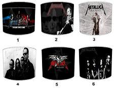 Metallica Diseños Pantallas de Lámpara, Ideales a Juego Cojines & Fundas