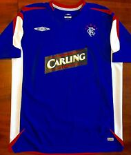 Mint Umbro GLASGOW RANGERS L Home 2006/07 Training Soccer Jersey Football Shirt