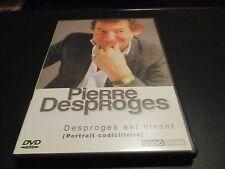 """DVD """"PIERRE DESPROGES EST VIVANT - PORTRAIT CODICILLAIRE"""" documentaire"""