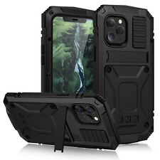 For iPhone 12 Pro Max Mini Shockproof Waterproof Case w/ Screen Protector Cover