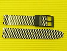 ORIGINAL Swatch Chrono - CHESS - Armband 17mm Kunststoff - ASCB116