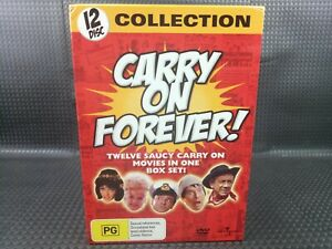 CARRY ON FOREVER ( 2006 -  12 DISC COLLECTION - REGION  4 AUS)  Comedy Films Lot